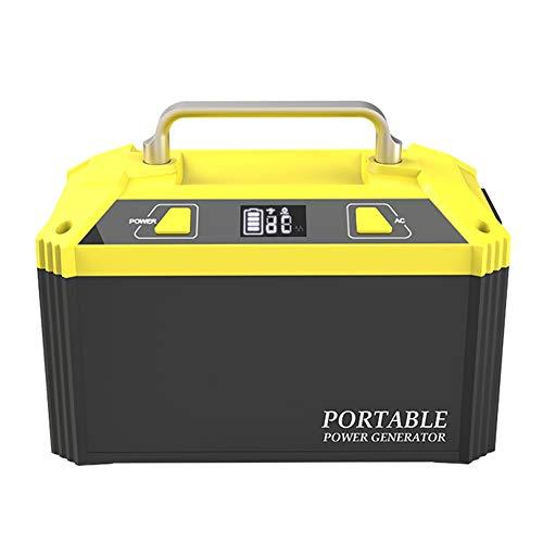 Portable Generator, Solar Inverter Power Station, Solar Panel/Wall Socket/Car Charging, Outdoor Camping Explorer Backup Power Peak Power Supply