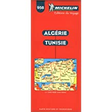 Carte routière : Algérie - Tunisie, 958, 1/1000000