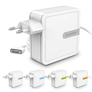 AURSEN MacBook Pro Ladekabel, 60W Magsafe 2 Magnetic T-Form Notebook Netzteil Ladegerät für MacBook Pro 13-Zoll-Retina-Display (nach Mitte 2012),Grau