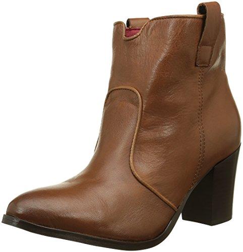 Buffalo London Damen ES 30819 Garda Cowboy Stiefel, Braun (Caramelo 01), 38 EU (Buffalo Leder Cowboy-stiefel)