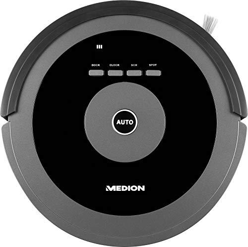 MEDION Robot Aspirador MD 17225 Negro