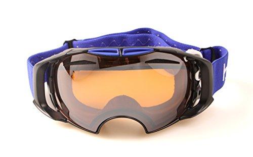 Hysteresis ST moritz- Ski Brille mit Wechselobjektiven