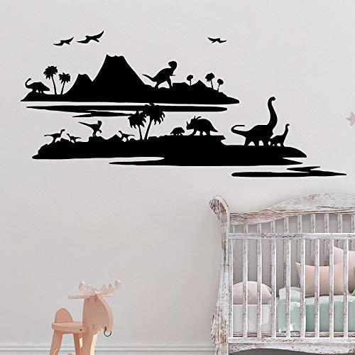 Spaß Dinosaurier Wandaufkleber Entfernbare Wandaufkleber Diy Tapete Für Kinderzimmer Dekor Dekoration Zubehör Wandaufkleber L 43 cm X 95 cm