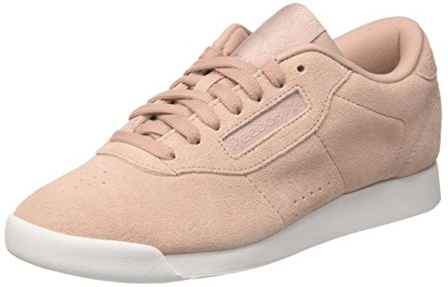 (Reebok Princess EB, Damen Niedrig, Pink (Shell Pink/whisper Grey/white), 39 EU)