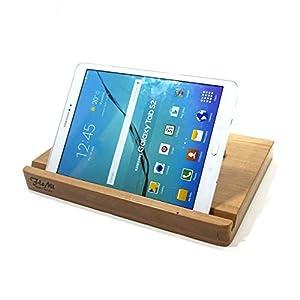 Massivholz/Echtholz Tablet-Hülle mit Ständer und Echtlederverschluss – Asus ZenPad 10 / VivoTab 10 / MemoPad ME102A – Medion Lifetab S10351