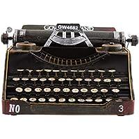 Cvthfyky Máquina de Escribir Retro Vintage Modelo decoración del hogar Bar ktv café Decoraciones Manualidades Accesorios