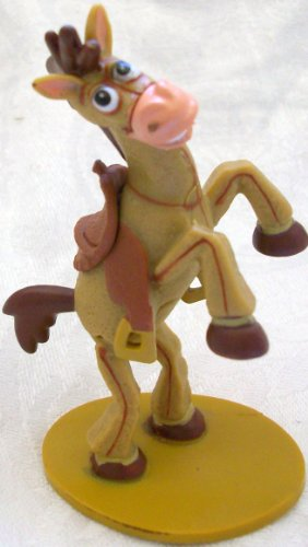 Woody's Bullseye, 3.5 Pvc Doll Figure Toy, Cake Topper by Disney ()