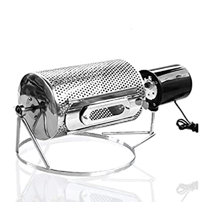 BAOSHISHAN Coffee Bean Roasting Machine Household Mini Stainless Steel Electric Drum Type Rotation Coffee Roaster 220V