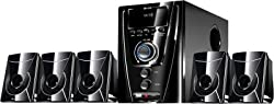 Flow Flash Bluetooth 5.1 Multimedia Speaker Home Theater System FM USB Remote Bass Trebble