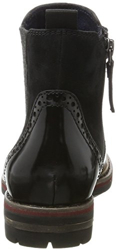 Tamaris Damen 25437 Chelsea Boots Schwarz (nero)
