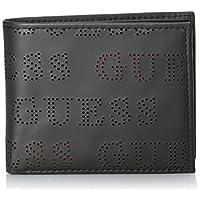 محفظة جلوبال للرجال من جيس مع جيب للعملات المعدنية، طراز 31GUE13197، باللون الاسود