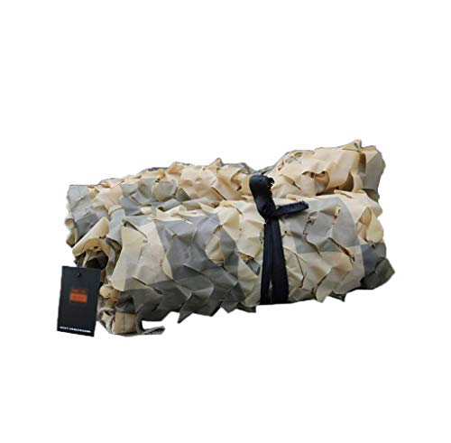 YMXLJF Filet Camouflage CP Camouflage Fleur coupée Filet Bloquer 70% des Rayons UV (Couleur : A, Taille : 2 * 3m)