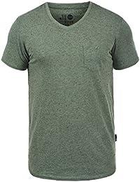 SOLID Tedros Herren T-Shirt V-Ausschnitt