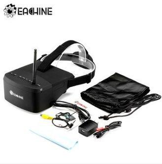 EACHINE EV800 FPV Brille 5 Inch 800x480 FPV Goggles 5.8G 40CH Raceband Auto-Suche Eingebaute Batterie für Quadrocopter - 8