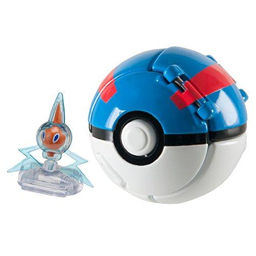 Pokemon T18873D3ROTOM Lanzamiento N Pop Poke Bola Con Rotom Figura