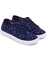 ASIAN Women's Rosy-12 Canvas Shoes,Sneakers,Loafers, Denim Walking Shoes