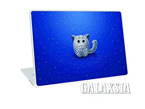 "Galaxsia Cute Cat NEW 11.6"" 12.1"" 13"" 13.1"" 13.3"" 14"" 15"" 15.4"" 15.6"" Laptop Notebook Vinyl Skin Sticker Cover Art Decal Protector Cover Case for 11.6"" -15.6"" Inch Toshiba Hp Samsung Dell Apple Acer Leonovo Sony Asus Laptop Notebook ."