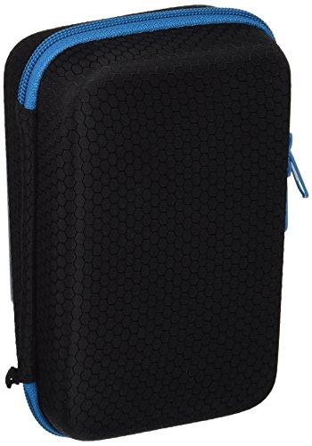 Subsonic - Estuche antichoque de almacenamiento, protección y transporte para NEW 2DS XL o NEW 3DS XL consolas y accesorios. Funda de protección para consola y cargador - Negro y azul