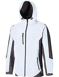 Dickies JW7010 WGYXXL Size 2X-Large Softshell Jacket - White/Grey