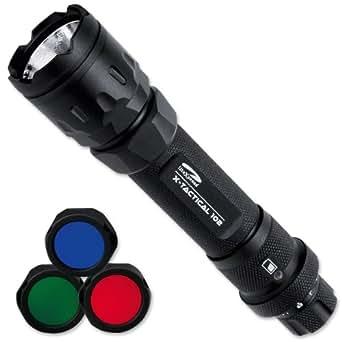 LiteXpress LXL440001 X-Tactical 102 Aluminium-Taschenlampe ...