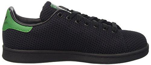 adidas Stan Smith, Bassi Uomo Nero (Core Black/core Black/green)