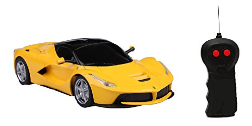 Olly Polly kids high Quality Super Fast 1:18 RC Ferrari Rechargeable 4CH Speed Car  available at amazon for Rs.449