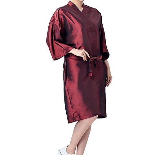 professionelle-friseursalon-kap-wasserdichte-spa-kimono-bademantel-rot