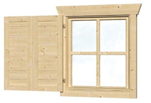 Skan Holz Regenrinnen-Verlängerungs-Set
