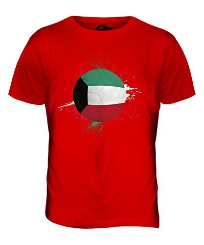CandyMix Kuwait Fußball Herren T Shirt Rot