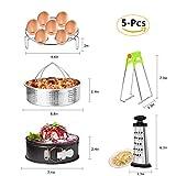 Best Good Cook Springform Pans - MARKKEER Instant Pot Accessories Set with Steamer Basket Review
