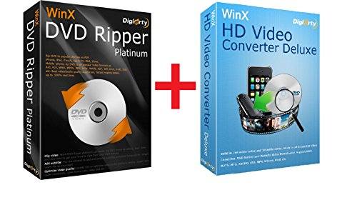 WinX DVD Video Converter Pack - Offizieller Partner von DIGIARTY (Zum Download - keine CD / DVD)