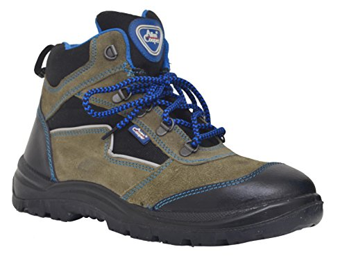 Allen Cooper 1110 Men's Safety Shoe, Gray
