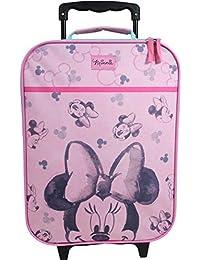 1d03787e4 Maleta para niños Maleta Carrito Equipaje de Mano Bolsa Chica Disney Minnie  Mouse