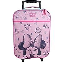 08f8a33a0f Valigia per Bambini Valigia Trolley Bagaglio a Mano Borsa Ragazze Disney  Minnie Mouse