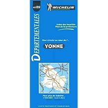 Carte routière : Yonne, 4089, 1/150000