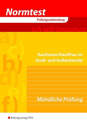 Normtest Kaufmann/Kauffrau im Groß- und Außenhandel