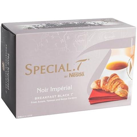 Original Special T - Noir Imperial - negro - 10 cápsulas (, 1 envase) para té máquinas Nestlé - aquí no incluidas