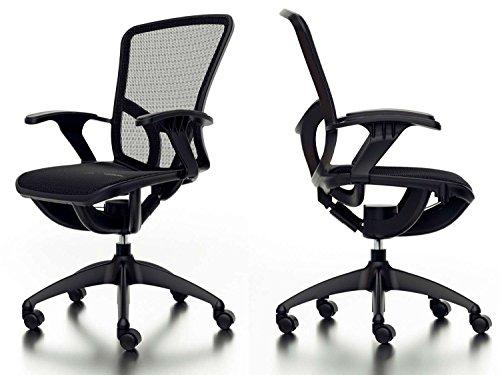 Livinxs® officeline sedia da ufficio nera malmö 66337