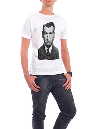 """Design T-Shirt Männer Continental Cotton """"James Stewart"""" - stylisches Shirt Film von Rob Snow Weiß"""