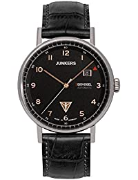 Junkers Herren-Armbanduhr Analog Automatik Leder 67545