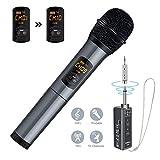 ELEGIANT Microphone Bluetooth, Micro Professionnel sans Fil Intégré FM Portables et...