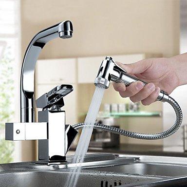 Preisvergleich Produktbild Eleoption Centerset zeitgemässen Tüllen Wasserhahn Küchenarmatur Spültischarmatur