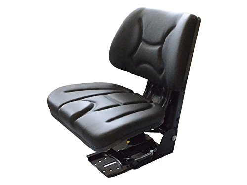 Preisvergleich Produktbild The Drive 14504- Traktorsitz Universal gefedert Kunstleder Traktorsitz, Treckersitz, Schleppersitz