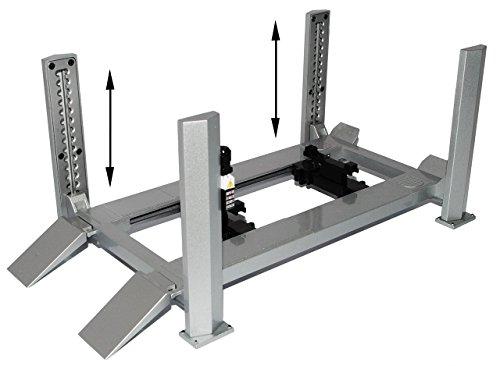 Preisvergleich Produktbild Hebebühne Werkstatt mit Funktion einstellbar für 1/18 er Modelle Greenlight Modell Auto