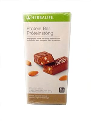 Herbalife Protein Bars - Chocolate Peanut (14 Bars per box) - 490g by HERBALIFE