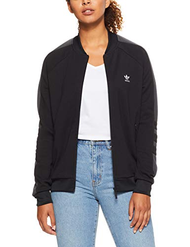 adidas Damen Originals Track Jacke, Black, 38
