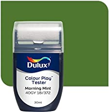 Dulux Color Play 30 ml Paint Tester (Morning Mint, Color Code: 40GY 18_372)