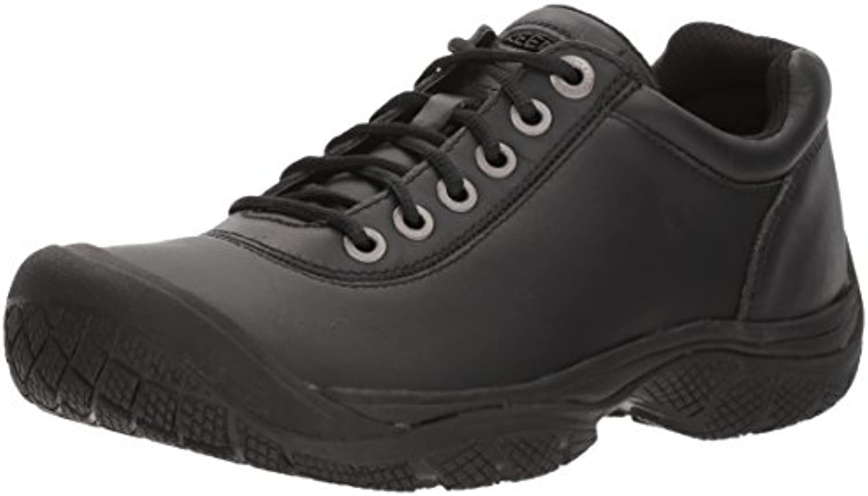 Keen Utility Men's PTC Dress Oxford Work Shoe Black 8 M US