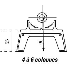 pied radiateur fonte. Black Bedroom Furniture Sets. Home Design Ideas