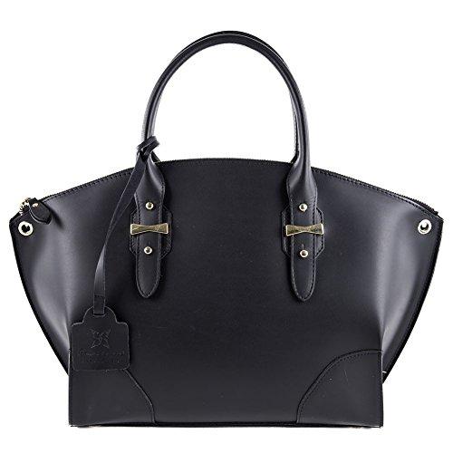 Shoulder-bag-Alyssa-Black-leather